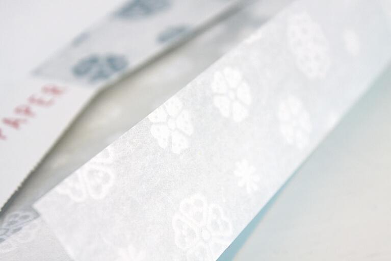 プリティーペーパー 漉き合わせ模様和紙 さくら | こうぞみずかみ