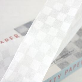 プリティーペーパー 漉き合わせ模様和紙 市松
